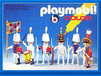 Playmobil Sets pieces: 3608-3609 Theme : Color