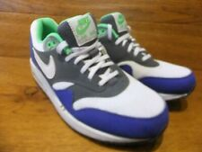 524c0c33bb8e Nike Air Max 1 Essential Blue   Green 537383-114 Casual Trainers Size UK 6