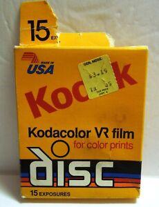 Vintage KODAK VR Film Kodacolor Disc Exp 1991 Unopened