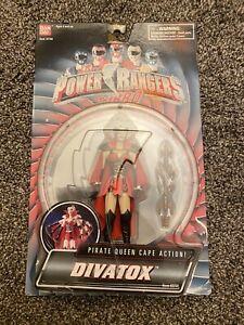 "Power Rangers Turbo DIVATOX 5"" Figure Bandai 1997 NEW SEALED, UNUSE NOT ON CARD"