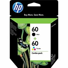 Genuine HP 60 Black&Color Ink Cartridge D1660 D2530 D2545 D2560 2017-2019