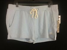 Women's powder blue casual comfortable sweat shorts by VANS Size XL New Tags
