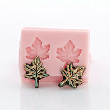 Tiny Maple Leaf Silicone Mold Jewelry Mold Perfect size for Earrings Charms (719