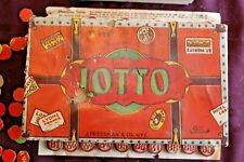 Vintage J Pressman Lotto Game No. 5/25