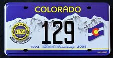 "ALPCA COLORADO "" ROCKY MOUNTAIN MEET - 30th Anniversary "" Graphic Licence Plate"