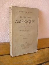 Hepworth DIXON / La nouvelle AMERIQUE 1874