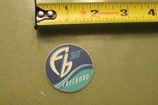 """FREEBORD 360 snowboard skateboard blue wave  ~1.5"""" Vintage Skate Decal STICKER"""