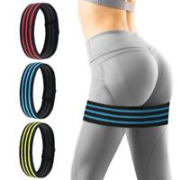 1pcs Yoga Sport Band Hip Circle Fitness Non Slip Strap Exercise Gym Elastic Belt