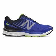 New Balance Men's 880BP8 Running Shoe, Blue/Lime, 15 4E(XW) US