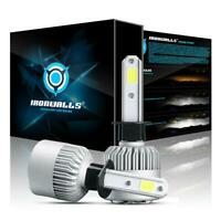 2PCS H1 LED Headlight Bulb Kit 72W 8000LM High or Low Beam Xenon 6500K White