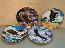 Franklin Mint Heirloom Collection Eagle Collectors Plates Set Of 4