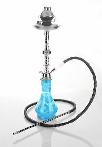 "1 hose 23"" Sky Hookah shisha sale bar narguile pipe glass water Vase new"