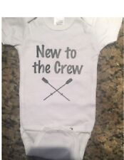 rowing baby shirt future rower infant rowing bodysuit crew baby boy one piece