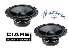CIARE CW170  CP CASSE WOOFER 165mm 4ohm 300W ALTOPARLANTI AUTO DJ HI-FI SPEAKER