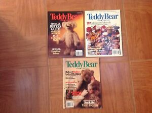 Teddy bear and Friends magazines 3 issues
