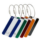 Pop Aluminium Luggage Tags Suitcase Label Name Address ID Bag Baggage Tag Travel