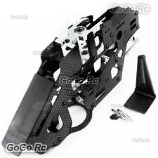 Carbon Fiber Main Frame Set (Belt Version) For Trex 450 Pro Heli (GT450-002G)