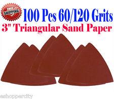 100 Sandpaper 60 120 Grit Multi Tool Fein Bosch Chicago Dremel Ryobi Sand Paper