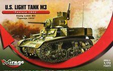 M3 LIGHT TANK - OPERATION TORCH (U.S. ARMY MARKINGS / STUART/HONEY) 1/72 MIRAGE