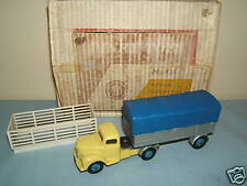 VINTAGE DINKY TOYS MODEL  No.424 COMMER CONVERTIBLE ARTICULATED TRUCK     VN MIB