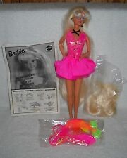 #6594 New Displayed Mattel Taglia Y Acconcia Cut and Style Barbie Foreign Issue
