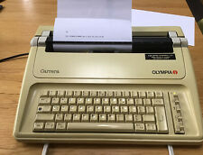 More details for typewriter electric olympia carrera ag made germany daisy wheel c1989 working