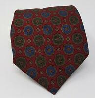 Cravatta salvatore ferragamo 100% seta tie silk original made in italy