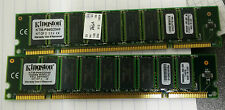 2x Kingston KTM-P660/2048 1GB SDRAM PC66 64X4 200-PIN ECC Memory - FREE SHIP!