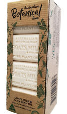 New Australian Botanical Soap Goats Milk & Soya Bean Shea Butter Pack Of 8
