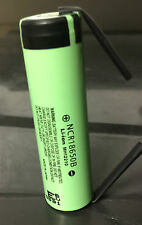 Hixon Genuine Panasonic NCR18650B Rechargeable 18650 Battery 3400mAh, with Tabs