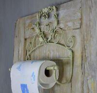 Porte Papier Essuie Tout Decoration Cuisine Retro Vintage Shabby Chic Blanc