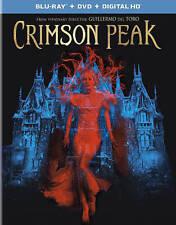 Crimson Peak (Blu-ray/DVD, 2016, 2-Disc Set) Guillermo Del Toro