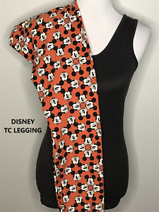 TC LuLaRoe Tall & Curvy DISNEY MICKEY Leggings NWOT