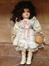 THE PRESTIGE COLLECTION BISQUE PORCELAIN CHELSEA DOLL 2822/3500*