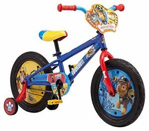 Nickelodeon Paw Patrol Kids Bike, 12-16-Inch Wheels, Toddlers to Kids ages 3 Yea