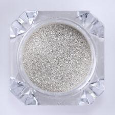 Nail Art Silver Mirror Powder Dust Pigment Metallic Effect Glitter Chrome Decor