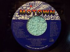 Stevie Wonder-I Just Called To Say I Love You-1984-45rpm-EX