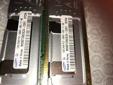 2GB Samsung (2X 1GB) PC2-5300F DDR2 2Rx8 RAM 4 HP DL360 DL380 ML350 ML370 IBM