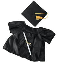 "Teddy Mountain Graduation Gown Outfit Fits all 14""-18"""
