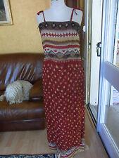 ENSEMBLE VOILE tunique + pantalon T 38 INFINITIF SUIT TUNIC TOP & PANTS size S/M