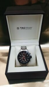 TAG HEUER CARRERA CAR2A1W fully boxed with papers and links