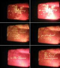 16 mm Film 1970.Astrologie Forschung Astronom Tempel Lebensweg.Antique Movie