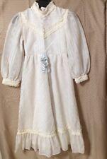 Dorrisa Of Miami Children's Vintage Antique Dress Size 6  Lace/Satin Bow   AGED