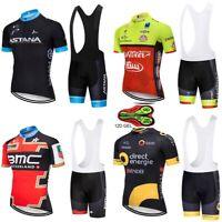 Completo ciclismo estivo 2019 abbigliamento maglia salopette gel 12 D