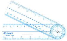 C-Thru Goniometer Protractor GO-180 CThru measures angles