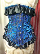 """Alchemy Gothic Lip Service Victorian Vampire Ballroom UnderBust Corset 20""""waist"""