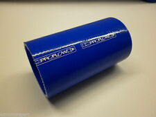 Silicon Hose Joiner Tube 2.75inch (70mm) ID x 150mm Long Blue Silicone