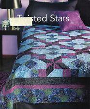 Twisted Stars Quilt Pattern Pieced KS