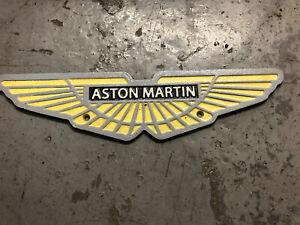 Aston Martin wing sign - Cast Iron Sign Plaque Vintage style Garage Art