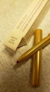 NIB Mary Kay 5465 TAWNY Luxury Liner Lip Pencil .009 oz. mechanical twist